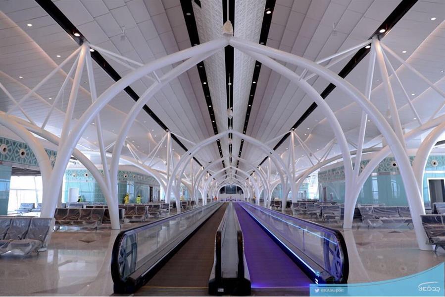 شاهد.. صور لمطار الملك عبدالعزيز الدولي الجديد المقرر تشغيله الشهر المقبل
