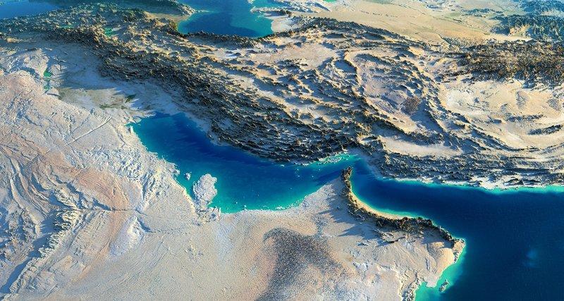 """مشروع ضخم لقناة بحرية على طول الحدود السعودية القطرية يحيل """"قطر"""" إلى """"جزيرة"""""""