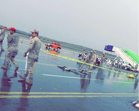 التحالف: إسقاط طائرتين بدون طيار أطلقتهما مليشيات الحوثي باتجاه جازان ومطار أبها (صور وفيديو)