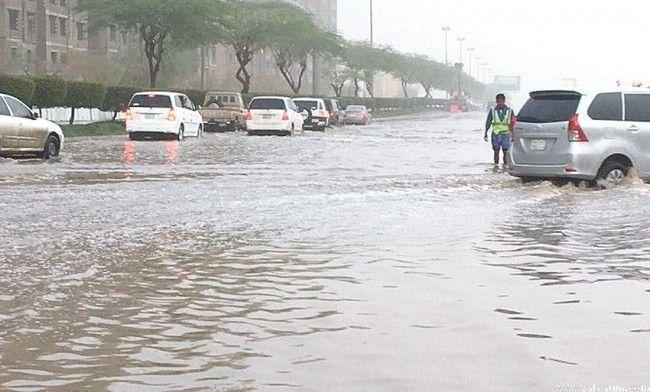 5 مناطق بالمملكة تتعرض لأمطار رعدية غزيرة الليلة