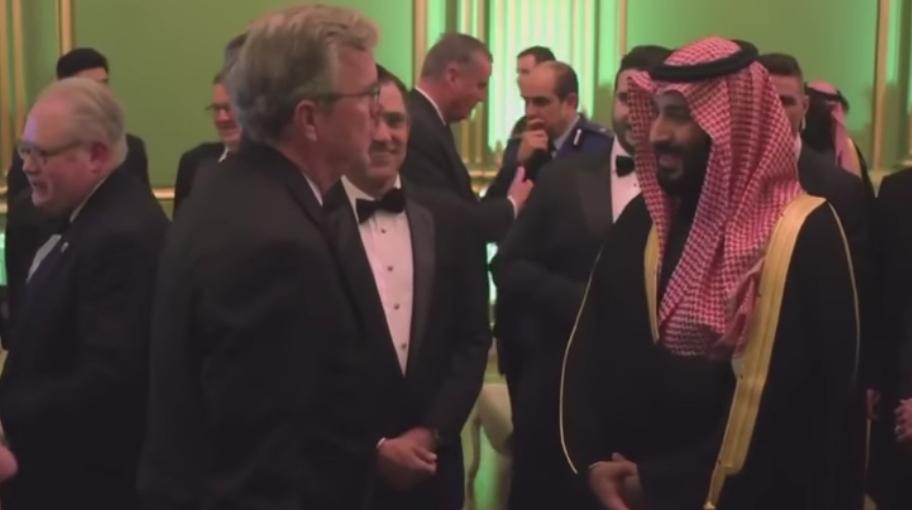 شاهد ماذا قال محمد بن سلمان وقادة امريكيين عن السعودية