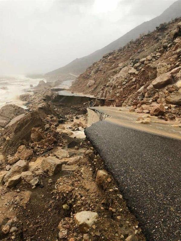 بالصور شاهد ماذا فعل اعصار #مكونو بــعُمان واليمن