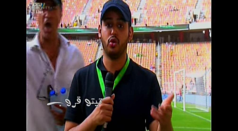 شاهد بعض اللقطات التي تسببت في انفعال تركي ال الشيخ على القناة الرياضية