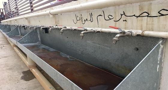 بالفيديو والصور.. طريقة مبتكرة لإفطار الصائمين بجامع الأمير عبدالله في الرياض