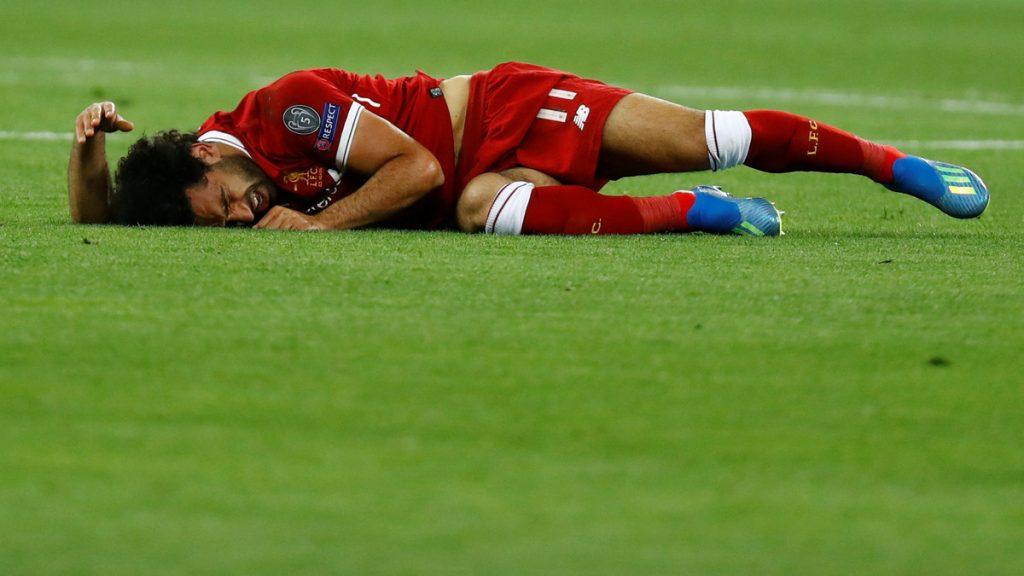 راموس يصيب محمد صلاح ويبعده عن النهائي