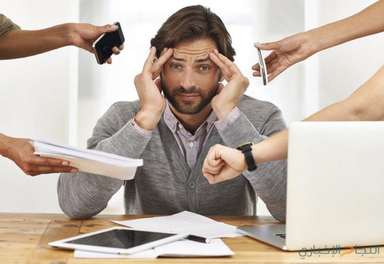 أطعمة تخفف التوتر أثناء العمل