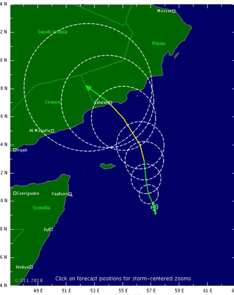 الأرصاد تحذر من تأثير عاصفة ميكونو التي ستمر ببعض مناطق المملكة وتمتد إلى الرياض