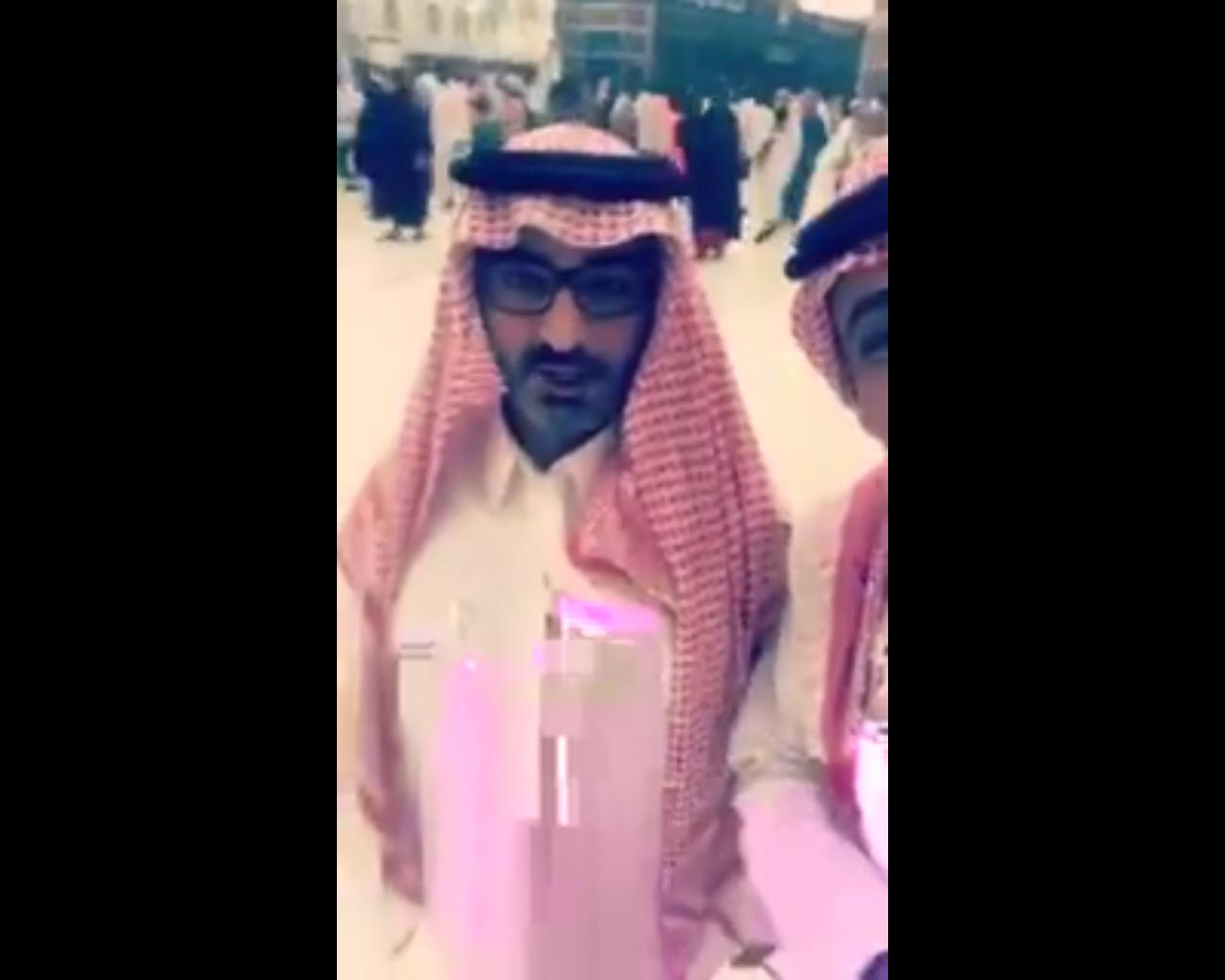 شاهد.. كذبت الدوحة فرد قطري من الحرمين: المملكة لم تمنعنا عن العمرة