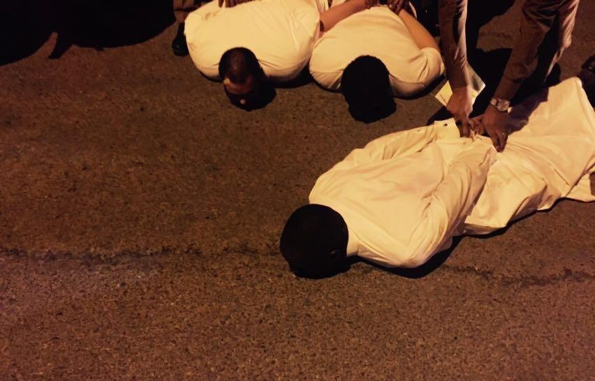 #عاجل بعد مقطع الإعتداء على رجال الأمن الداخلية تقبض عليهم وتوثق لحظات القبض