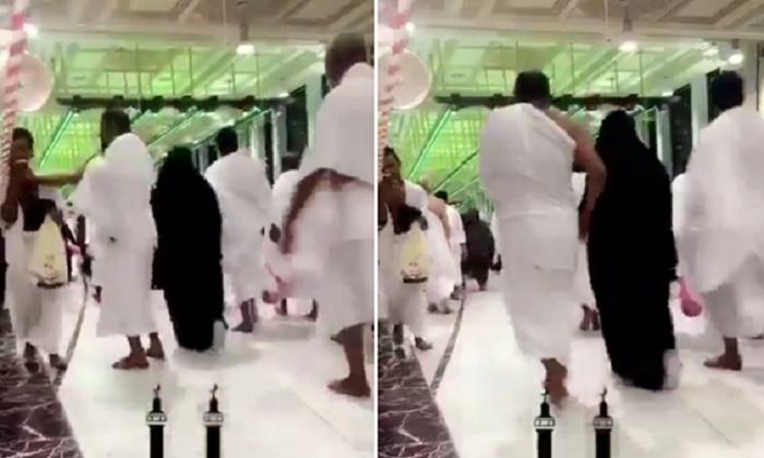 الشاب الذي تعرض للضرب أثناء السعي في المسجد الحرام يكشف السبب وعلاقته بمن قام بصفعه!