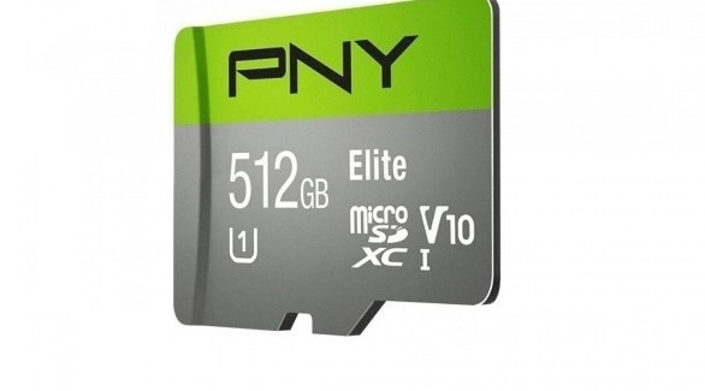 أول بطاقة ذاكرة MicroSD بسعة 512 جيجابايت