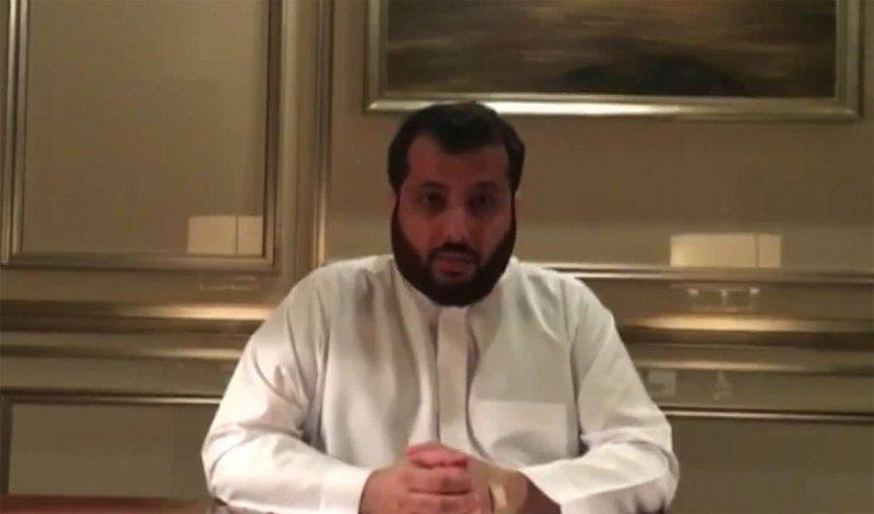 بالفيديو تركي آل الشيخ: للاعبي المنتخب سوَّدتوا وجهي..