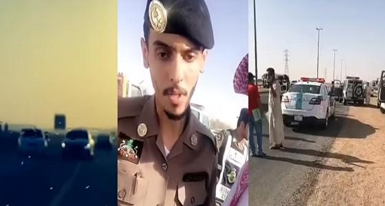 بالفيديو.. مداهمة مفحطين ورصد عدد من المخالفات في نهار رمضان بالرياض