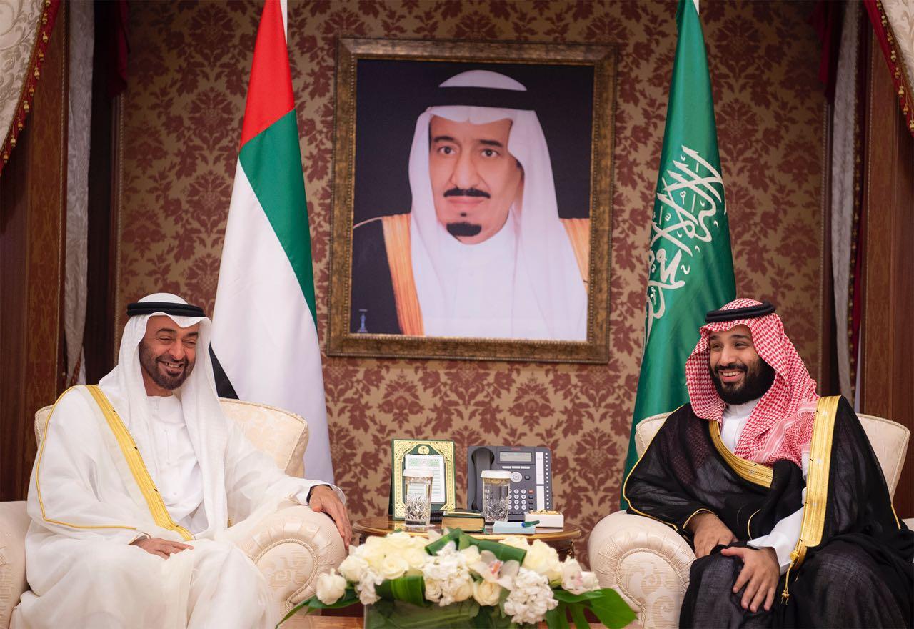 بالصور.. ولي العهد ومحمد بن زايد يترأسان الاجتماع الأول لمجلس التنسيق السعودي الإماراتي