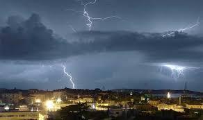الأرصاد تعلن خريطة الأمطار الرعدية والغبار اليوم في المملكة