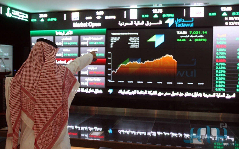 مؤشر سوق الأسهم يغلق مرتفعاً عند مستوى 8309.37 نقطة