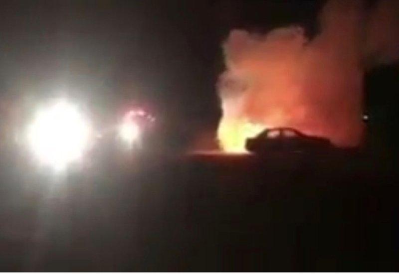 """ت كشف تفاصيل جديدة حول حريق سيارة مواطنة بـ """"صمْد الجموم"""""""