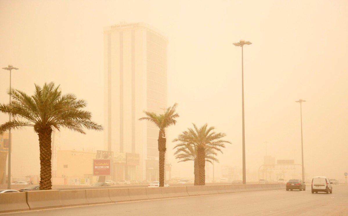 طقس الاثنين .. غبار وغيوم على 8 مناطق