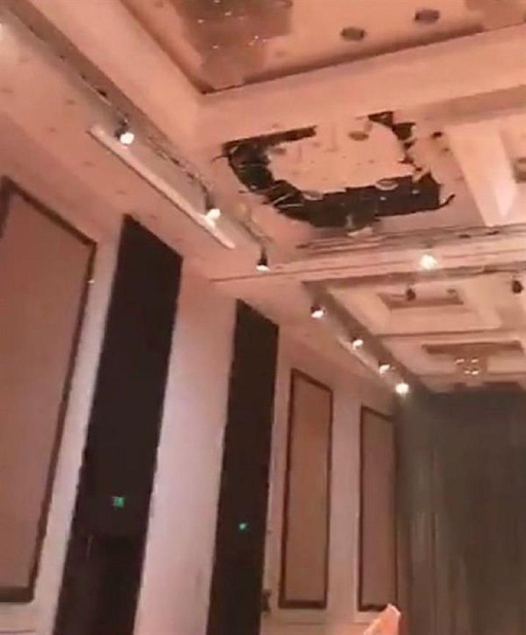الرياض.. انهيار سقف قاعة مناسبات على الحضور بحفل زواج (صور)