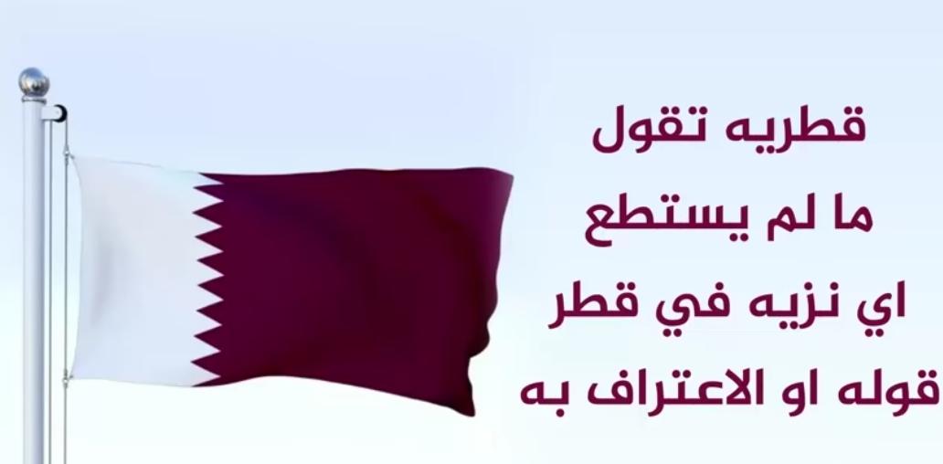 """شاهد """"قطريه تقول ما لم يستطع اي نزيهه في قطر قوله او الاعتراف به"""""""