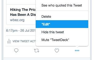 تغيير كبير في تويتر .. زر جديد فهل لتعديل التغريدات أو لحذفها؟