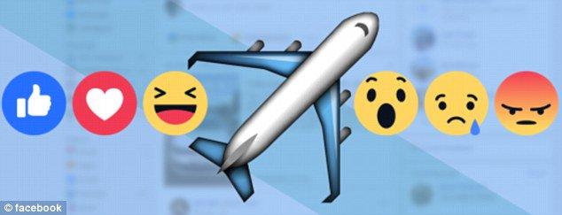 فيسبوك تعتذر عن رمز الطائرة الجديد