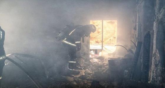 حريق بغرفة عريس وعروسة في ليلة زفافهما بالطائف