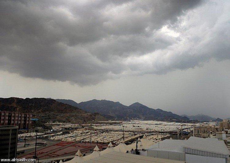أمطار رعدية على بعض مناطق المملكة