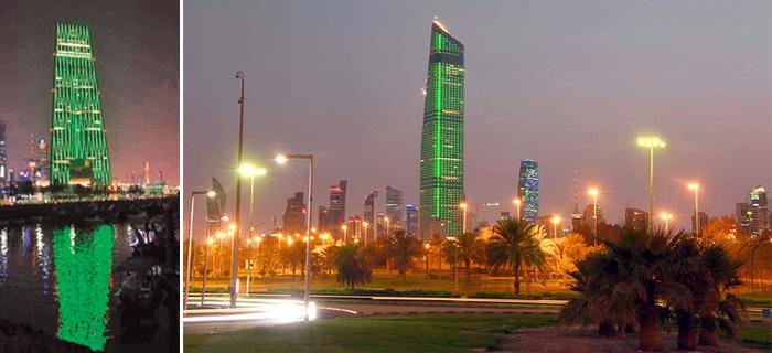 الكويت تحتفل باليوم الوطني السعودي الـ88
