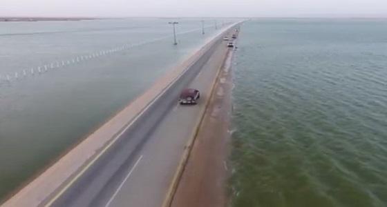 """حقيقة """" فيديو """" هطول أمطار على غرب المجمعة"""