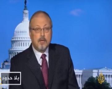 """شاهد: كيف رد """"خاشقجي"""" على مزاعم مذيع بالجزيرة قال إن السعودية تقتل وتعذب معارضيها السياسيين!"""
