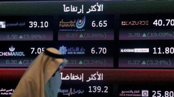 الأسهم السعودية تنفرد بالصعود عربيًّا وتترقب ضخ 15 مليار دولار