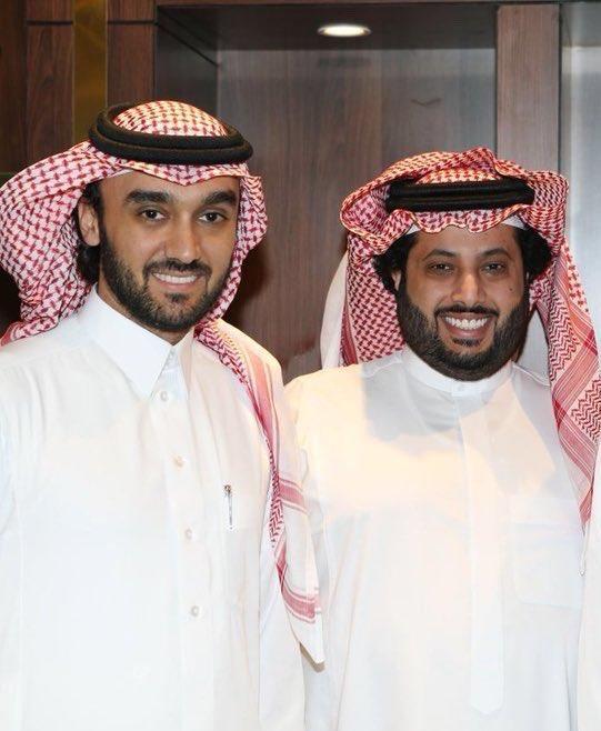 """تركي آل الشيخ يُمازح رئيس هيئة الرياضة الجديد: """"عطني عبده ورابح وخذ المريسل وفواز"""""""