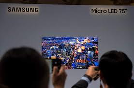 سامسونج تطلق تقنية العرض Micro LED الجديدة