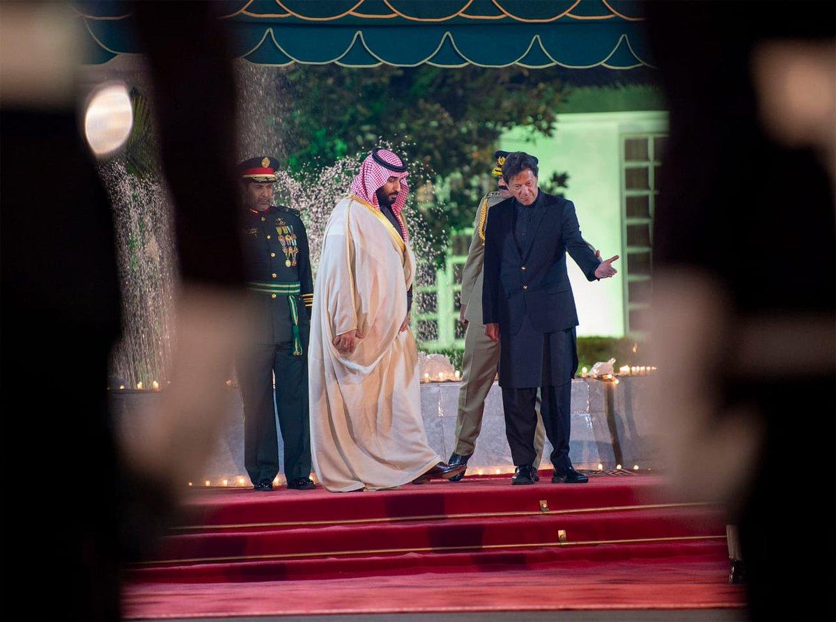 الحفاوة بزيارة الأمير محمد بن سلمان تلجم محور الشر