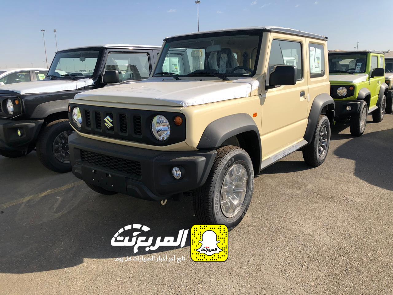 """""""بالصور و الفيديو وصول سوزوكي جيمني 2019 الشكل الجديد الى السعودية + المواصفات Suzuki Jimny"""