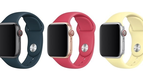 أبل تطلق 3 ألوان ربيعية لسوار ساعتها الذكية.. تعرف على الأسعار