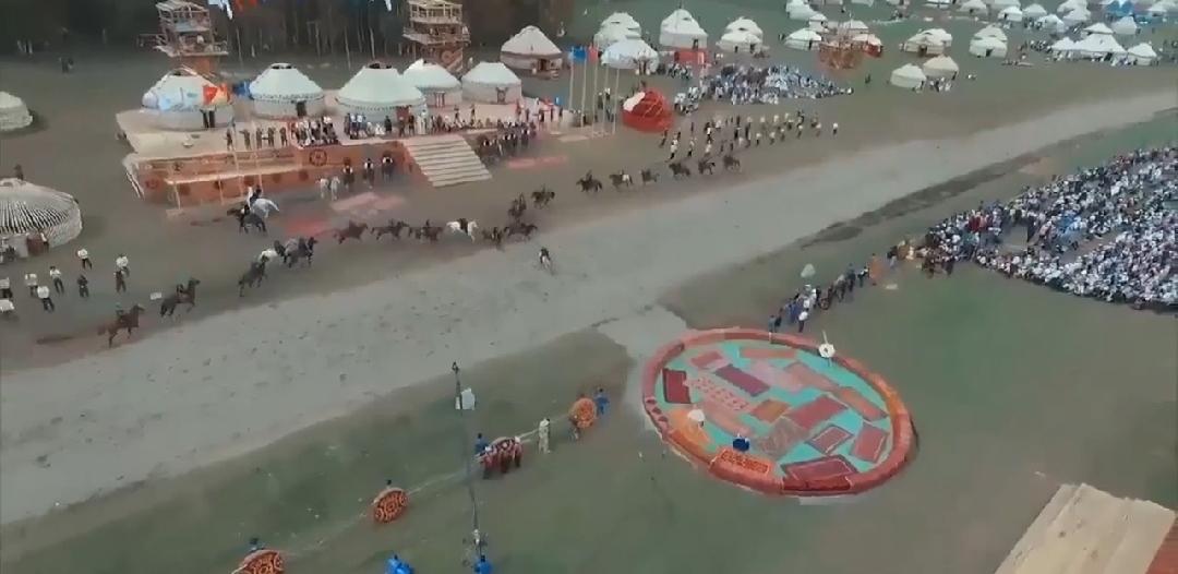 وصلوا أهل النوماد… اللعبة الأشهر في قرغيزستان