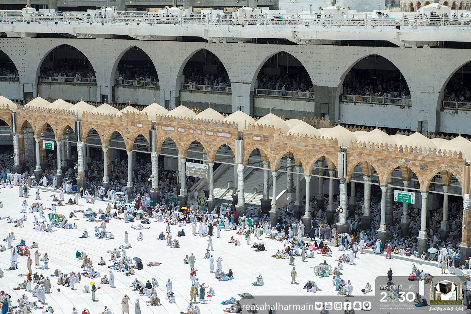 رئاسة الحرمين : مشروع تظليل الحرم لا زال قيد الدراسة