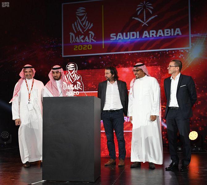 الهيئة العامة للرياضة تعلن استضافة المملكة لرالي داكار السعودية 2020 يناير المقبل