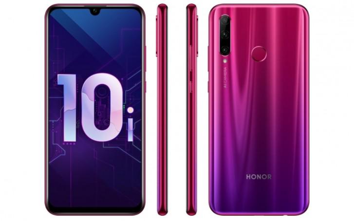 4 كاميرات.. تعرف على مواصفات وسعر هاتف Honor 10i الجديد في المملكة