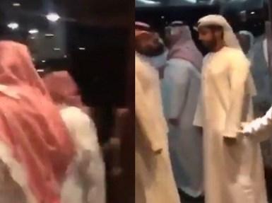 بالفيديو.. الأمير محمد بن سلمان مع ولي عهد أبوظبي في أحد مطاعم الرياض