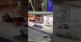 فيديو.. العناية الإلهية تنقذ شابًّا سقط أمام سيارة مسرعة