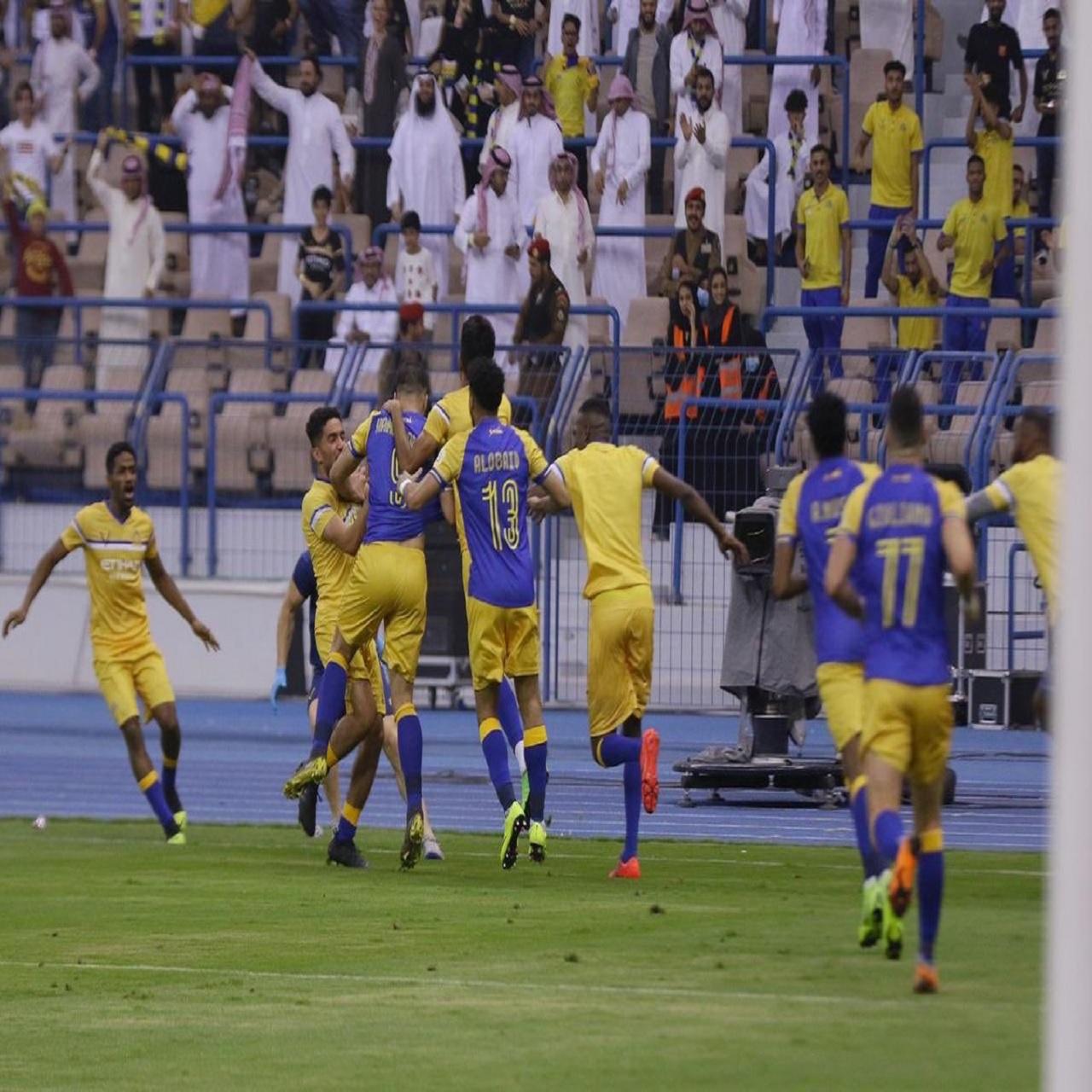 النصر بطلًا لـ دوري محمد بن سلمان للمحترفين