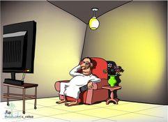 أطرف الكاريكاتيرات حول برامج ومسلسلات رمضان
