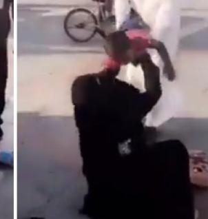مقطع مؤثر لامرأة فقدت طفلها في حديقة عامة.. شاهد: ردة فعلها بعد العثور عليه!