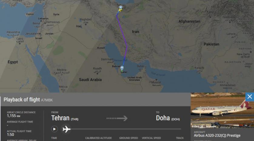هل زار أمير قطر طهران سرًّا لإنقاذها ولعب دور الوسيط مع أمريكا؟