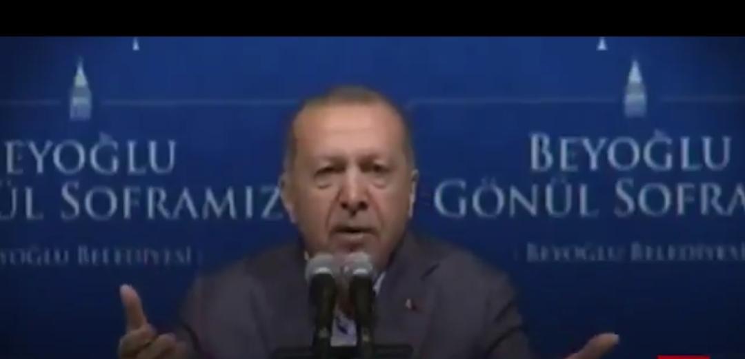 الديكتاتور اردوغان يصاب بالجنون واصبح يهدد كل من في البلاد #تركيا