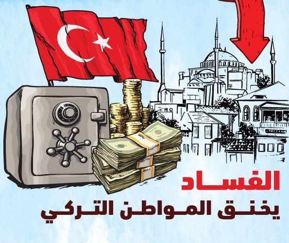 الفساد يخنق المواطن التركي فأين ذهبت أموال الشعب؟