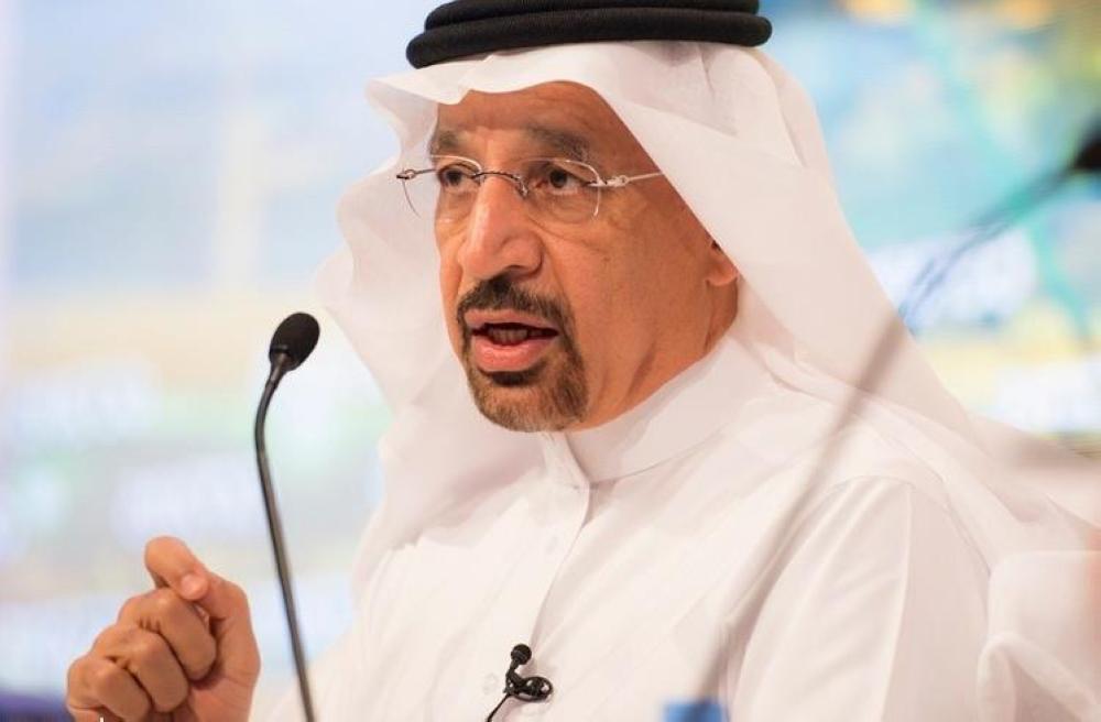 الفالح: الاعتداء على ناقلتين في خليج عمان يهدد إمدادات النفط في العالم